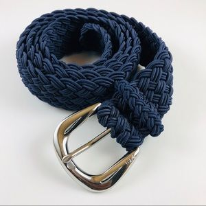 Ralph Lauren Braided Blue Belt